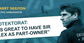 Harry Skelton quoted saying that it's great to have Sir Alex Ferguson as the part-owner of Protektorat